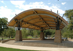 Custom Steel Shade Shelter