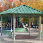 Hexagon Steel Shade Shelter