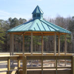Octagon Steel Shade Shelter