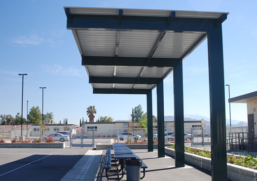 Cantilevered Walkway Poligon