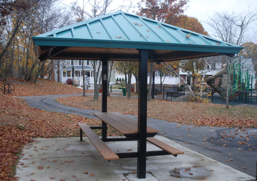Hip Roof Picnic Shelter
