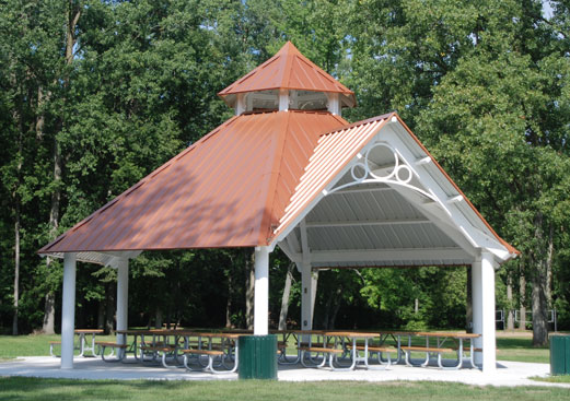Grand Haven Hexagon - Park Shelter