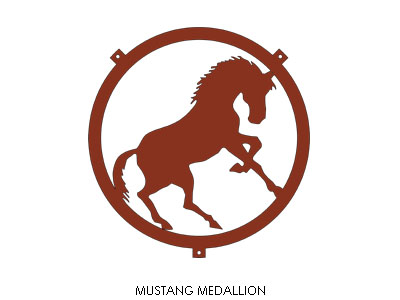 mustangMedallion_archRed