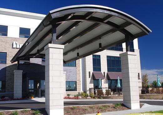 Entrance Canopies & Entrance Canopies - Poligon